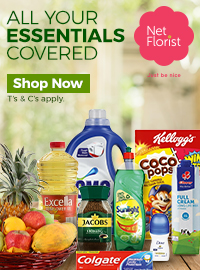essentials delivery in South Africa, netflorist, largest online florist in South Africa
